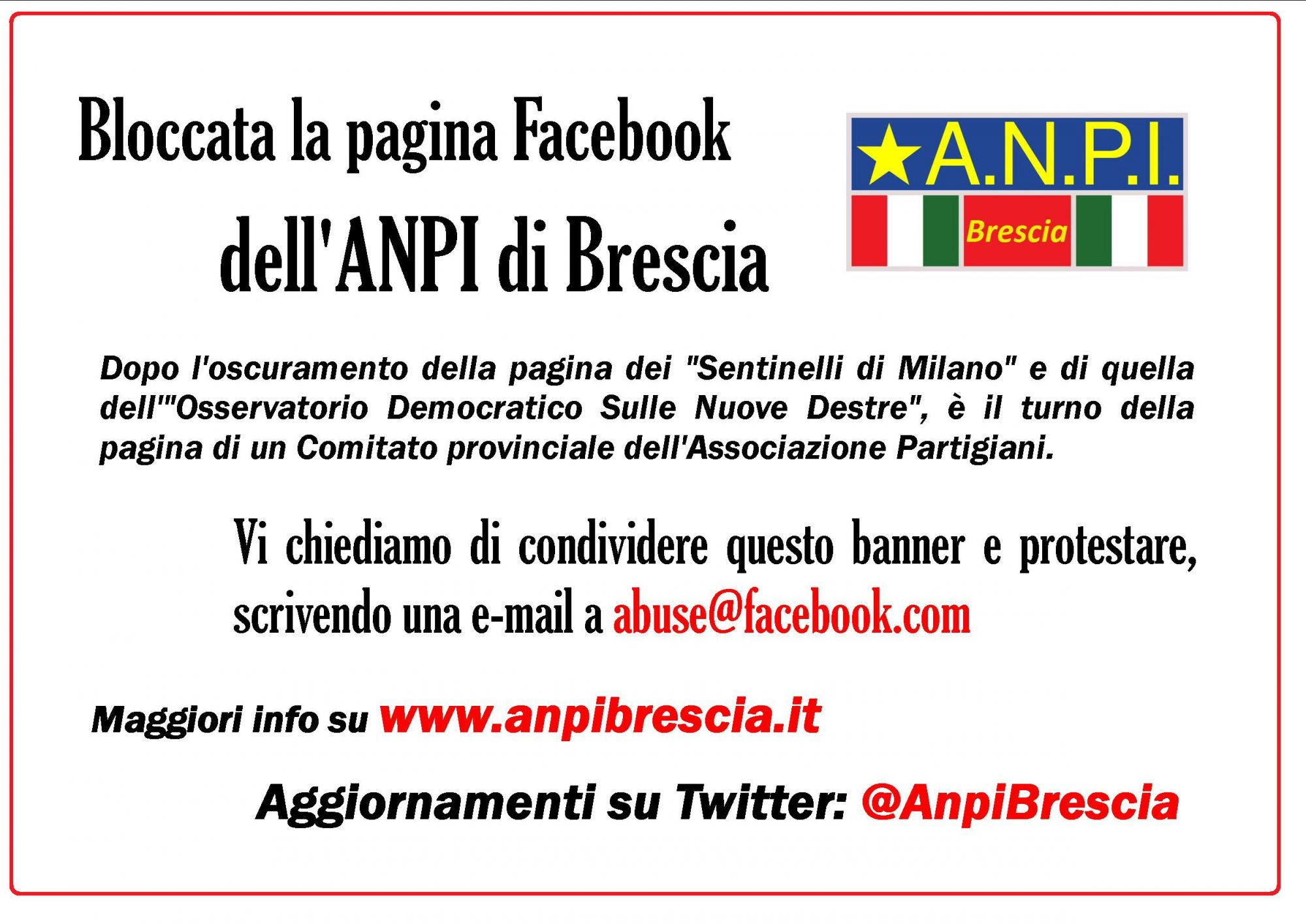 Facebook ANPI Bs 24 lug