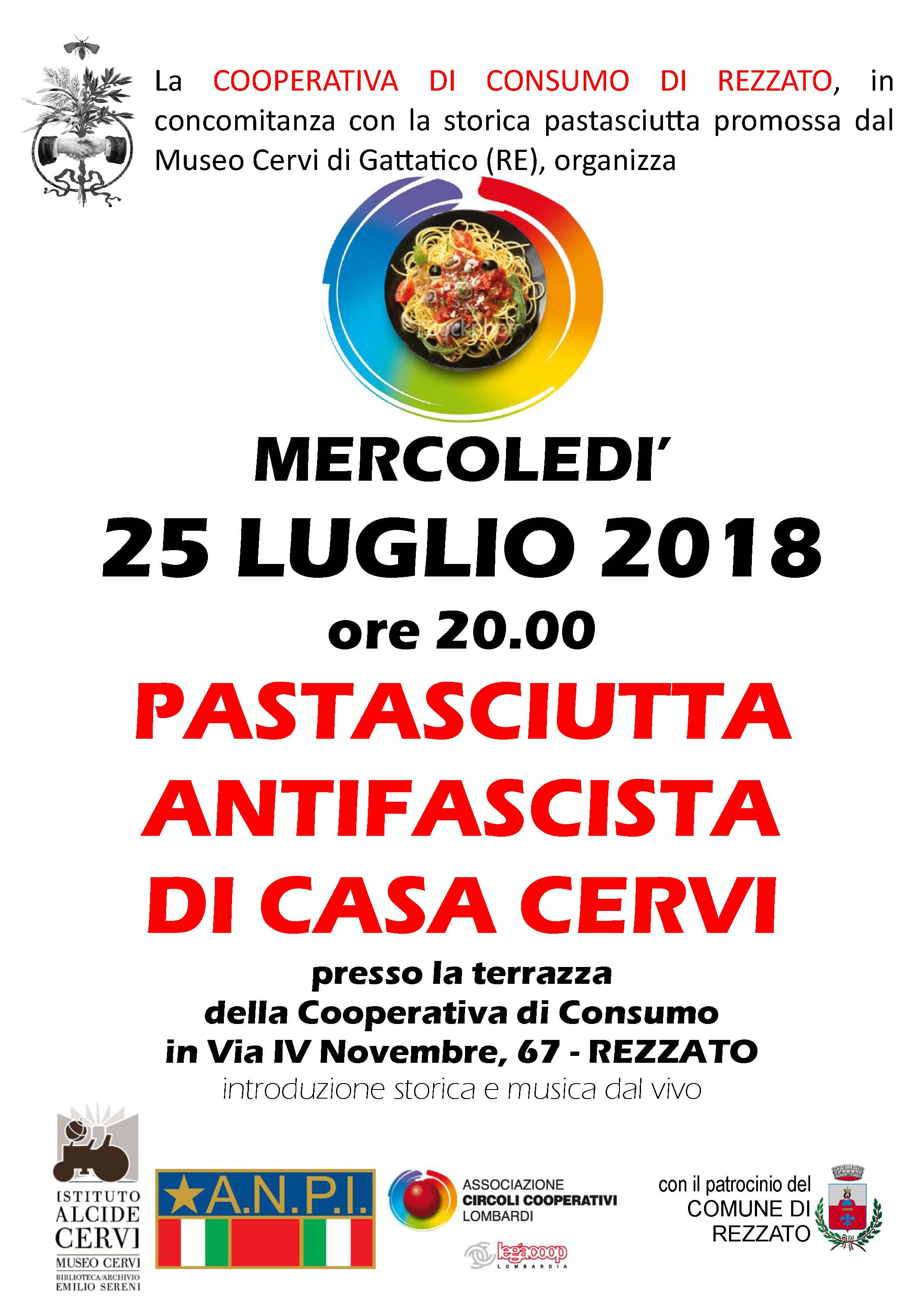z 2018 07 25 - ANPI Rezzato Pastasciutta